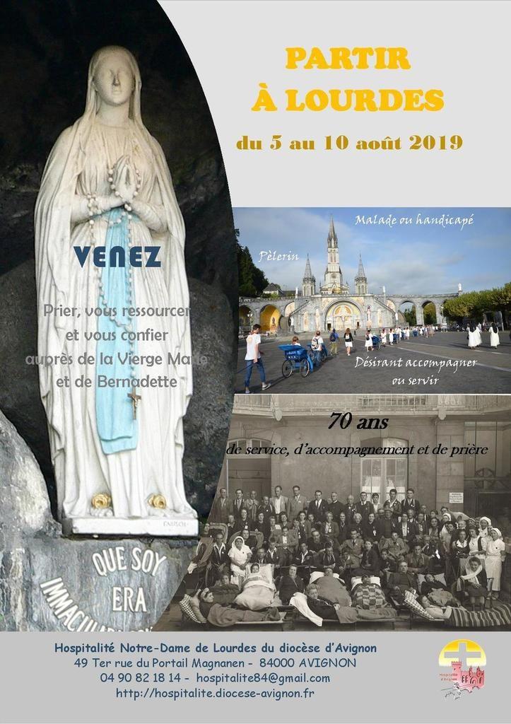 Partir à Lourdes