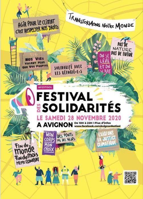 LE FESTIVAL DES SOLIDARITÉS !! @ Avignon
